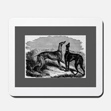 Two Greyhounds Mousepad