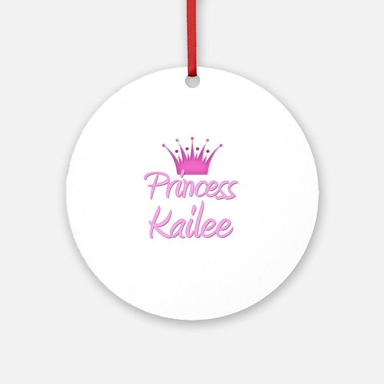 Princess Kailee Ornament (Round)