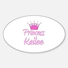 Princess Kailee Oval Decal