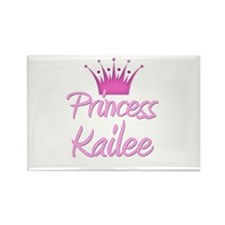 Princess Kailee Rectangle Magnet