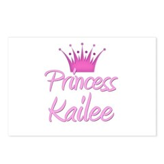 Princess Kailee Postcards (Package of 8)