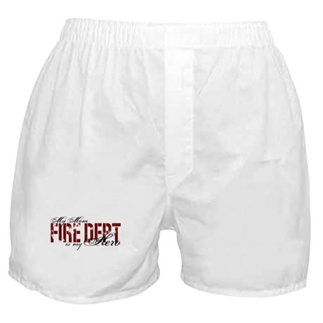 My Mom My Hero - Fire Dept Boxer Shorts