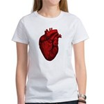 Vintage Anatomical Human Heart Women's T-Shirt