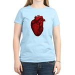 Anatomical Human Heart Women's Light T-Shirt