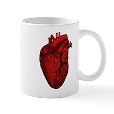 Vintage Anatomical Human Heart Coffee Mug