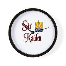 Sir Kaiden Wall Clock