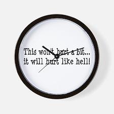 Nurse, Physical Therapist Wall Clock