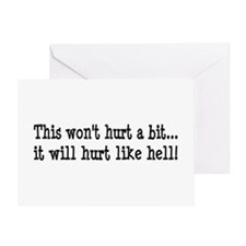 Nurse, Physical Therapist Greeting Card