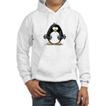 Weight lifting penguin 2 Hooded Sweatshirt