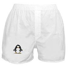 Weight lifting penguin 2 Boxer Shorts