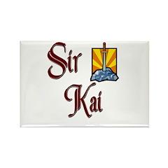 Sir Kai Rectangle Magnet