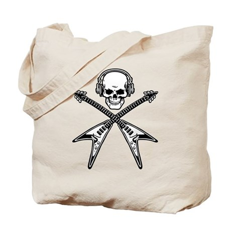 Music Pirate Tote Bag