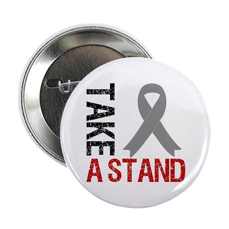 """Brain Cancer TakeAStand 2.25"""" Button"""
