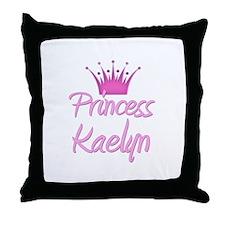 Princess Kaelyn Throw Pillow