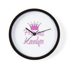 Princess Kaelyn Wall Clock