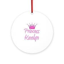 Princess Kaelyn Ornament (Round)
