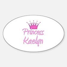 Princess Kaelyn Oval Decal
