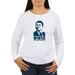 WWRD? Reagan Women's Long Sleeve T-Shirt