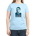 WWRD -What Would Reagan Do? Women's Light T-Shirt