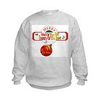 Navy Christmas Kids Sweatshirt