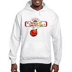 Navy Christmas Hooded Sweatshirt