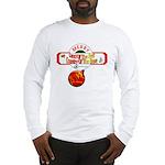 Navy Christmas Long Sleeve T-Shirt