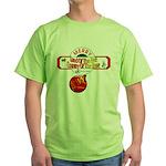 Navy Christmas Green T-Shirt
