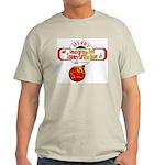 Navy Christmas Light T-Shirt