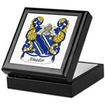 Amador Family Crest Keepsake Box