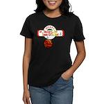 Navy Christmas Women's Dark T-Shirt