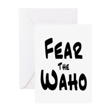 Fear the Waho Greeting Card