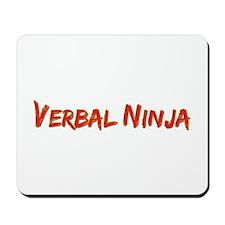 Verbal Ninja Mousepad
