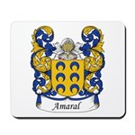 Amaral Family Crest Mousepad