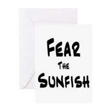 Fear the Sunfish Greeting Card