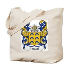 Amaral Family Crest Tote Bag