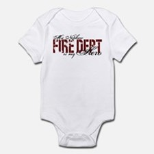 My Nephew My Hero - Fire Dept Infant Bodysuit