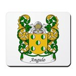 Angulo Family Crest Mousepad