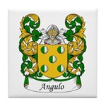 Angulo Family Crest Tile Coaster