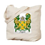 Angulo Family Crest Tote Bag