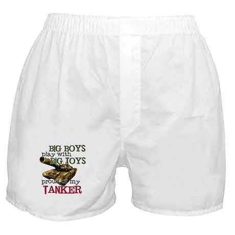Big Boys Play with Big Toys Boxer Shorts