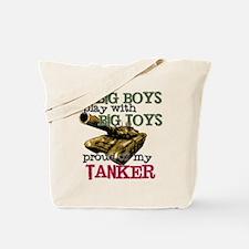 Big Boys Play with Big Toys Tote Bag