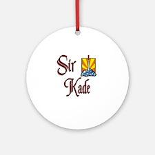 Sir Kade Ornament (Round)
