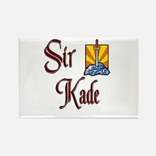 Sir Kade Rectangle Magnet
