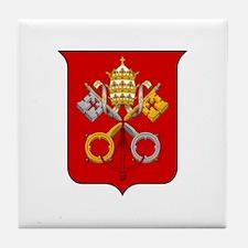 Cute Vatican city Tile Coaster