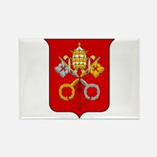 Cute Vatican city flag Rectangle Magnet