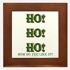 Ho Ho Ho! How do you like it. Framed Tile