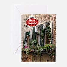Italian Window Greeting Cards (Pk of 20)