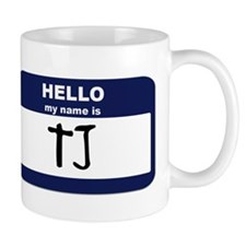 My Name is TJ Mug