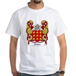 Arrais Family Crest White T-Shirt