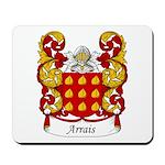 Arrais Family Crest Mousepad